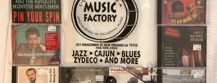 Louisiana Music Factory is one of New Orleans.