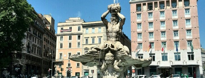 Piazza Barberini is one of Italy: Dining, Coffee, Nightlife & Outings.