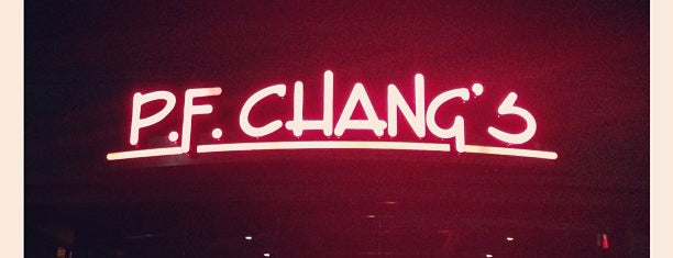 P.F. Chang's is one of restaurant.