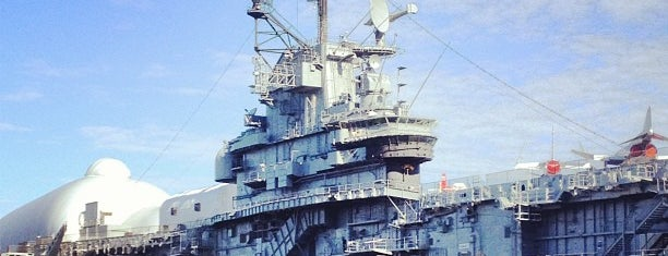 Intrepid Sea, Air & Space Museum is one of Fun Things for Kids to do in NYC.