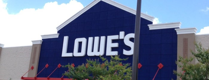 Lowe's is one of Kevin : понравившиеся места.