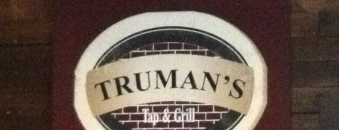 Truman's Tap & Grill is one of Tempat yang Disimpan Taryn.