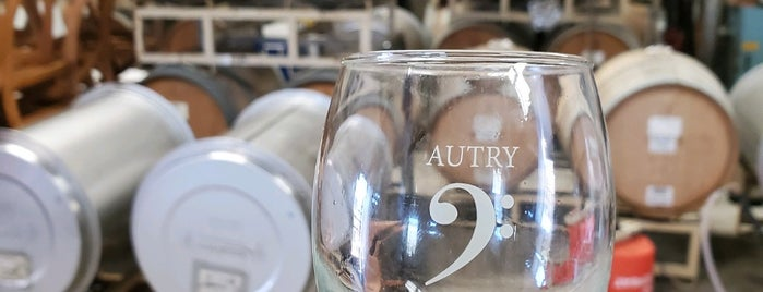 Autry Cellars is one of Paso vineyards.