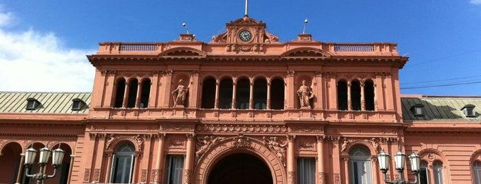 Casa Rosada is one of Mis Lugares (Buenos Aires).