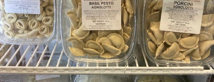 Russo's Mozzarella & Pasta is one of NY.