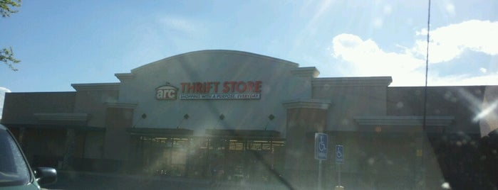 Arc Thrift Store is one of June's Liked Places.