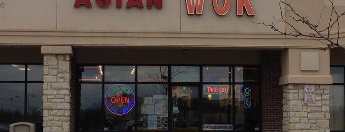 Chan's Asian Wok is one of Locais curtidos por Brian.