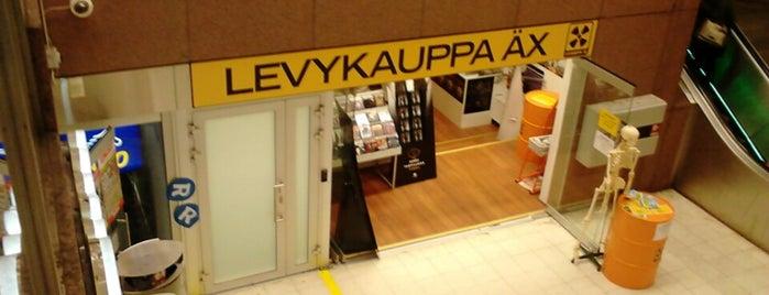 Levykauppa Äx is one of Helsinki.