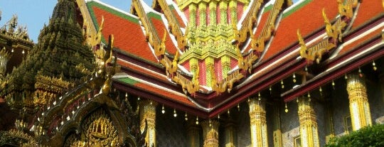 The Grand Palace is one of Rob & Bec Visit Bangkok.