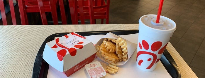 Chick-fil-A is one of Ashley's Liked Places.