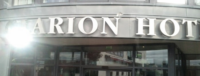 Clarion Hotel Liffey Valley is one of Tempat yang Disukai Fabio.