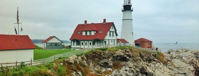 Portland Head Light Museum & Gift Shop is one of Locais salvos de Beril.