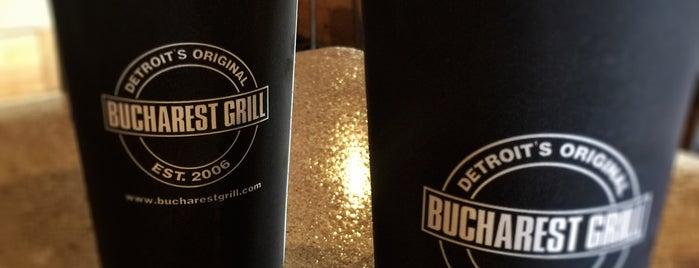 Bucharest Grill is one of Orte, die K. gefallen.