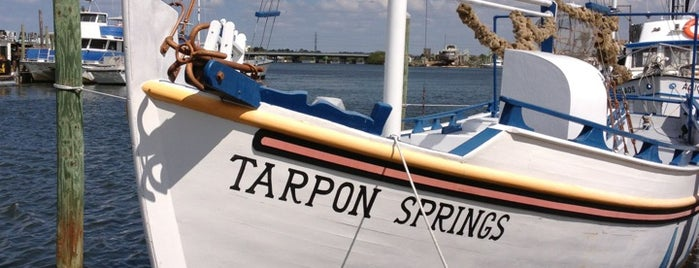 Tarpon Springs Sponge Docks is one of Tampa.