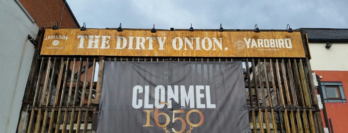 The Dirty Onion is one of Belfast à faire.