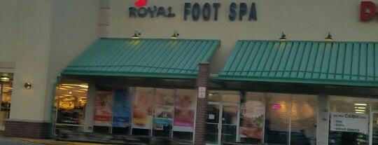 Royal Foot Spa is one of Tempat yang Disukai ker.