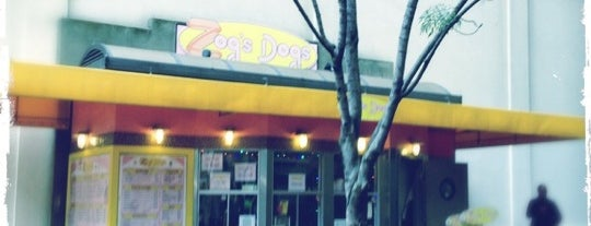 Zog's Dogs is one of San Francisco.