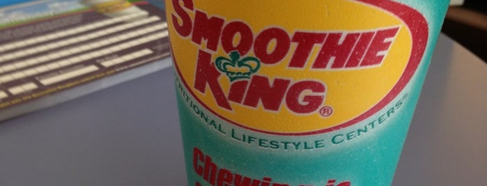 Smoothie King is one of Lugares favoritos de Stephanie.