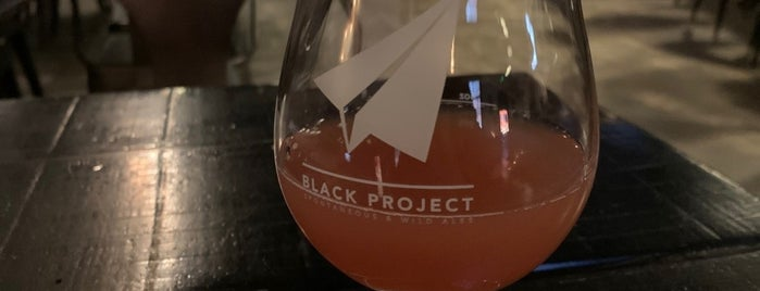 Black Project Spontaneous & Wild Ales is one of New-to-me CO Breweries.
