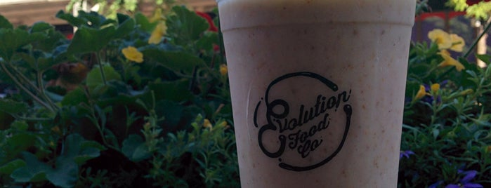 Evolution Food Co is one of Tempat yang Disukai Ashleigh.