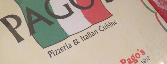 Pago's Italian Cuisine is one of Village of Oak Creek.