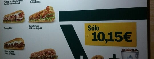 Subway is one of Madrid.  España.