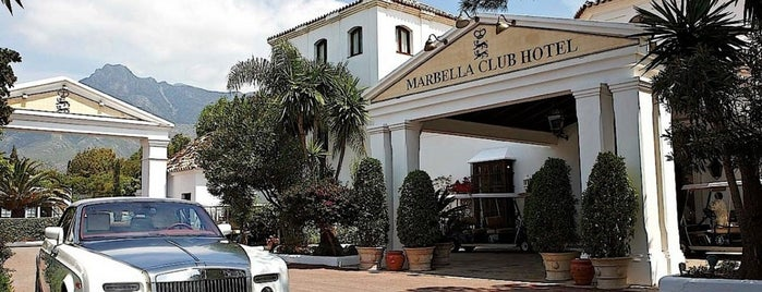 Marbella Club Hotel is one of Hotels.