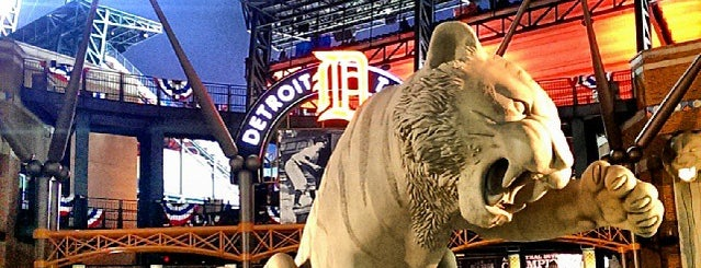 Comerica Park is one of Major League Baseball Stadiums.