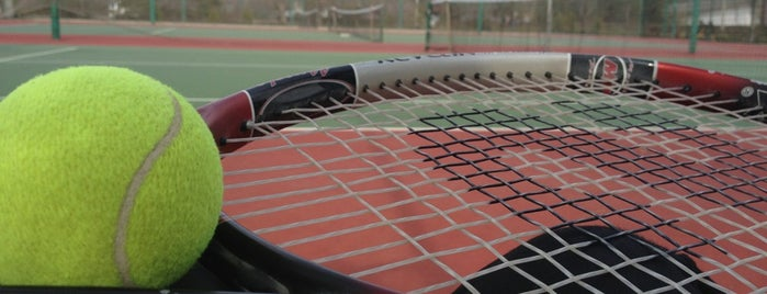 ODTÜ Tenis Kortları is one of my love Ankara.