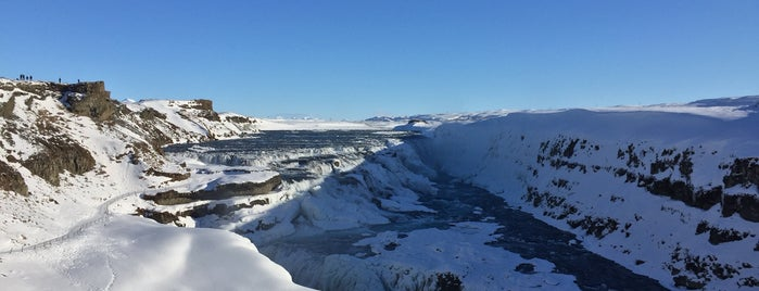 Gullfoss is one of George's Liked Places.