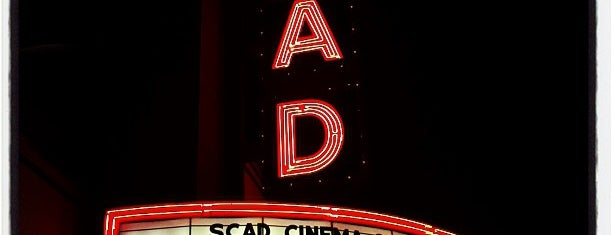 SCAD Theater is one of savannah.