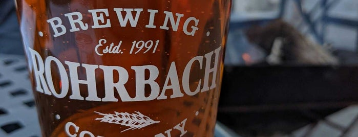 Rohrbach Brewing Company is one of Places to check out in Rochester.