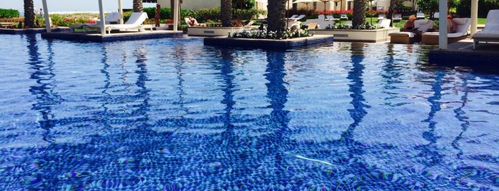 Park Hyatt Abu Dhabi Pool Side is one of Middle East.