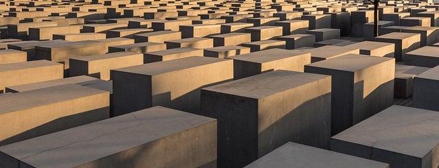 Denkmal für die ermordeten Juden Europas is one of Berlin.