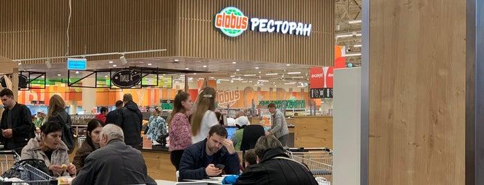 Ресторан Globus is one of Ruslan 님이 좋아한 장소.