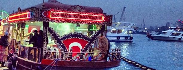 Tarihi Eminönü Balık Ekmek is one of تركيا.