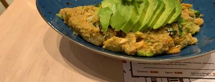 Take a Wok is one of Ruta Vegetariana.