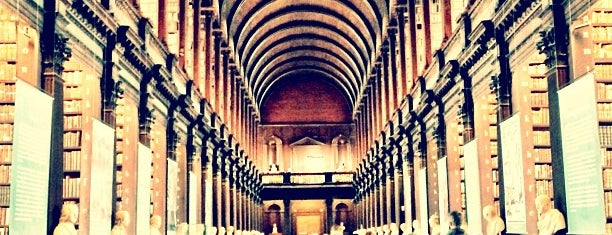 Trinity College Old Library & The Book of Kells Exhibition is one of The Ultimate Guide to Dublin.