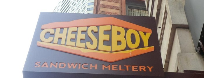 Cheeseboy is one of Boston.