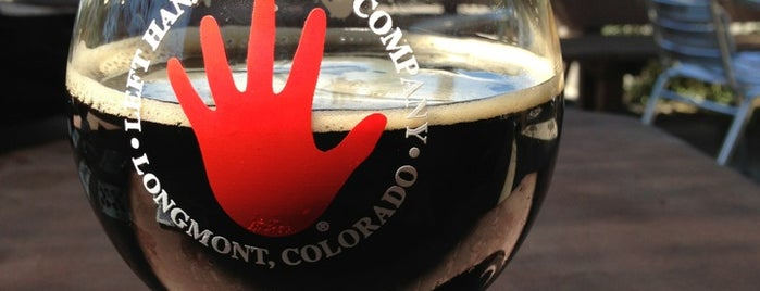 Left Hand Brewing Company is one of America's Best Breweries.