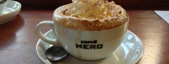 Caffè Nero is one of Orte, die Audrey gefallen.