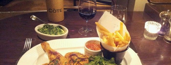 Côte Brasserie is one of London.