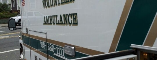 Bravo Volunteer Ambulance is one of NYC Volunteer Ambulance Quarters.