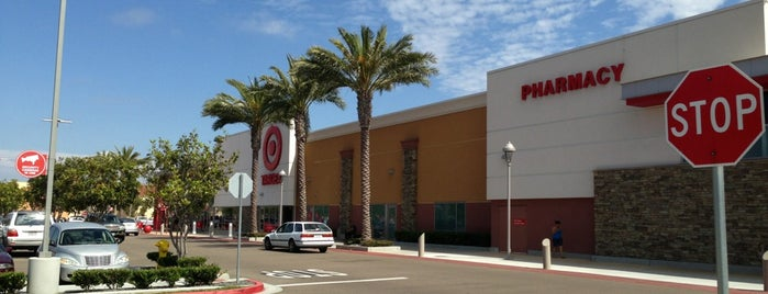 Target is one of San Diego.