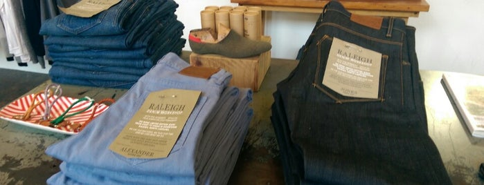 Raleigh Denim is one of Raleigh Favorites II.