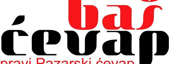 Baš ćevap is one of Fast food tzv. has sa trafike.