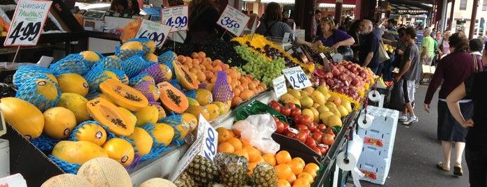 Queen Victoria Market is one of MEL.