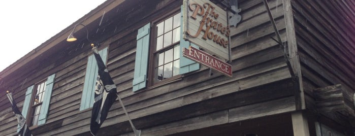 The Pirates' House is one of Foodie - Misc 1.