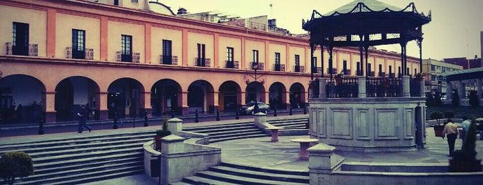 Plaza González Arratia is one of Cosas que amo de Toluca y sus alrededores.