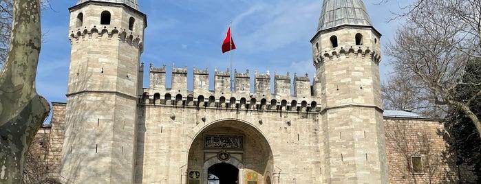 Topkapı Sarayı Revakaltı is one of Fatih.